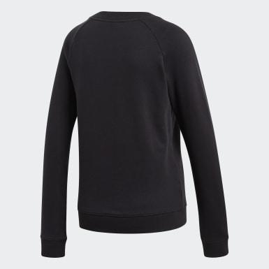 Women Originals Black Trefoil Crewneck Sweatshirt