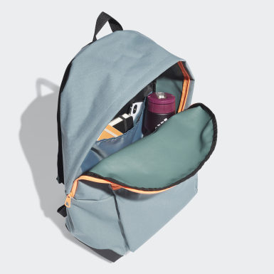 Lifestyle Green Classic Twill Fabric Backpack