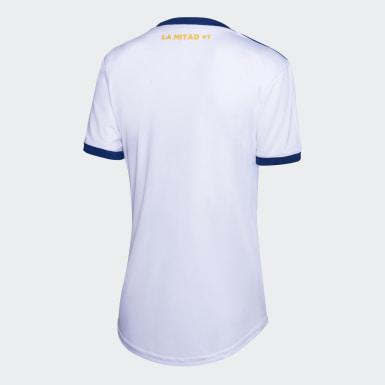 Jersey de Visitante Boca Juniors Blanco Mujer Fútbol
