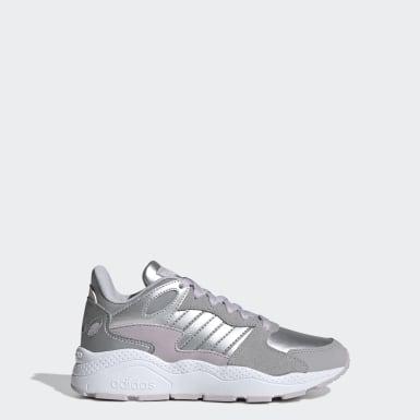 Sapatos Crazychaos Prateado Criança Running