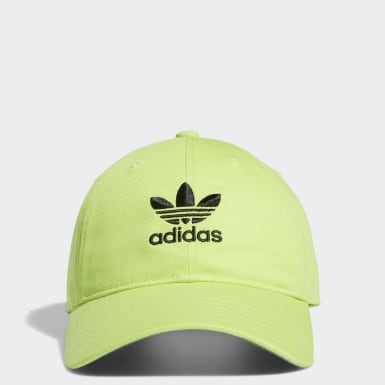 Men's Originals Green Relaxed Strap-Back Hat