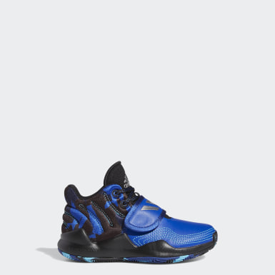 Kinder Basketball Deep Threat Schuh Blau