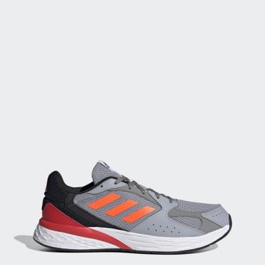 Men Running Grey Response Run Shoes