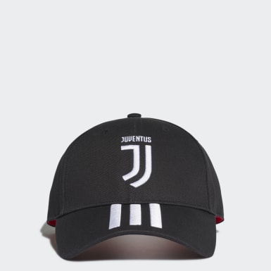 Juventus 3-Stripes Cap Czerń