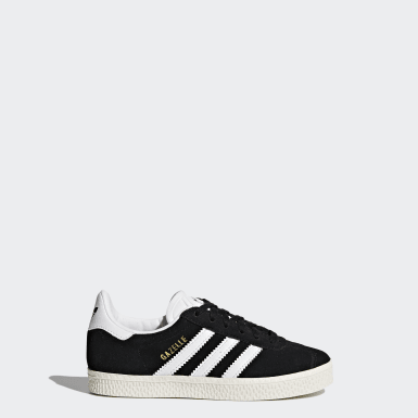 Children Originals Black Gazelle Shoes