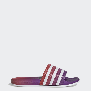 Women Originals Purple Adilette Slides