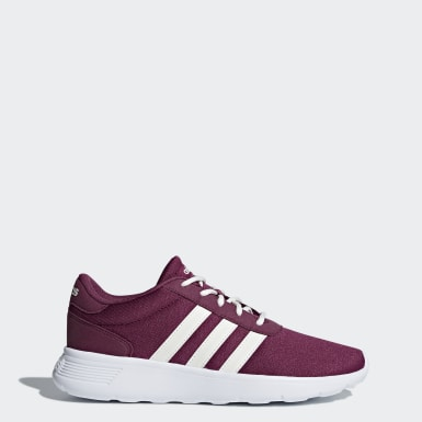 Women Sport Inspired Burgundy Lite Racer Shoes