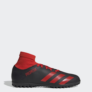 Men's Soccer Black Predator 20.4 S Turf Shoes