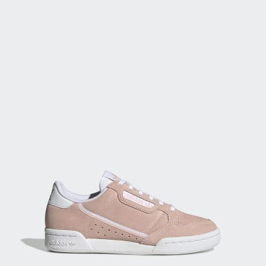 Tenis Continental 80 Rosa Niño Originals