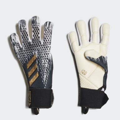 Youth Soccer Black Predator 20 Pro Junior Gloves