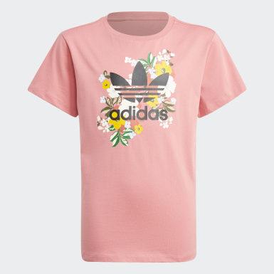 Girls Originals Pink HER Studio London Floral Tee