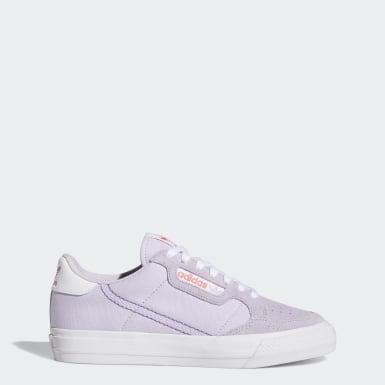 Frauen Originals Continental Vulc Schuh Lila