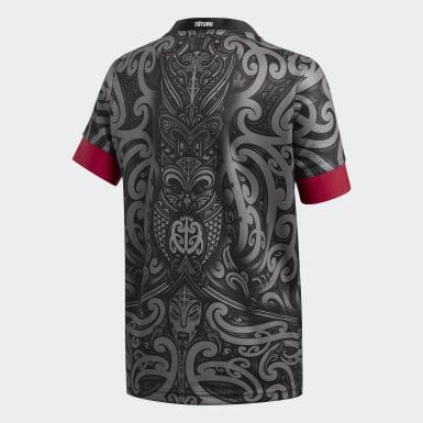 Māori All Blacks Replica Trøye Svart