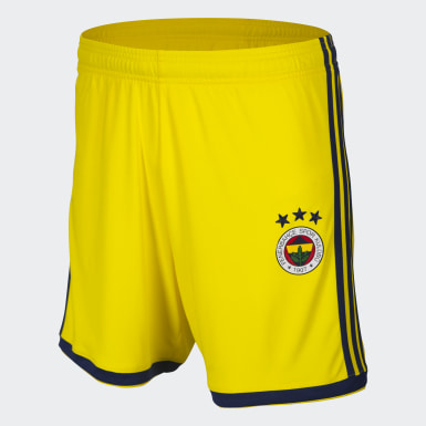 Men Football Yellow Regista 18 Shorts