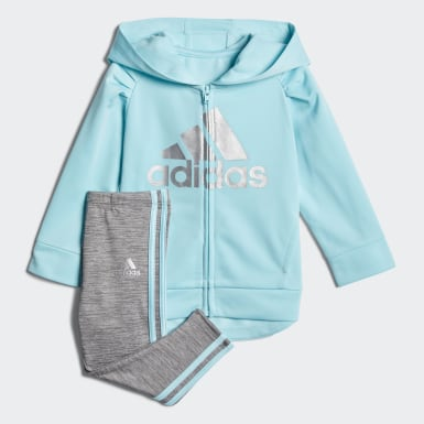 Tricot Hoodie and Tights Set