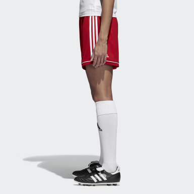 Women Soccer Red Squadra 17 Shorts