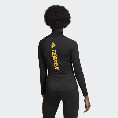 Women TERREX Black Terrex Agravic XC Long Sleeve Sweatshirt