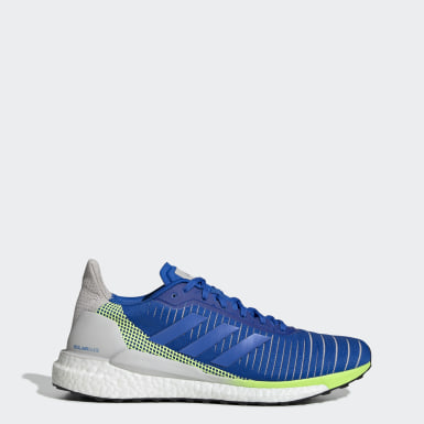 Chaussure Solar Glide 19 Bleu Hommes Running