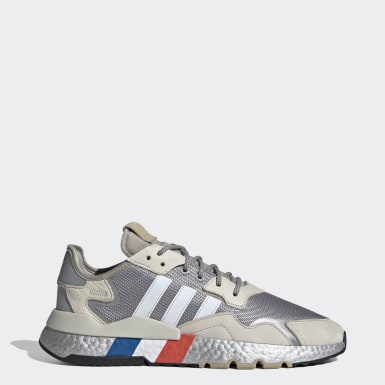 Originals สีเงิน รองเท้า Nite Jogger