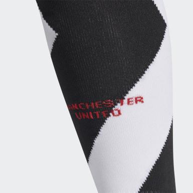 Fodbold Hvid Manchester United 20/21 tredjestrømper