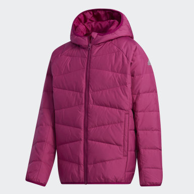 Girls Training Purple Frosty Jacket