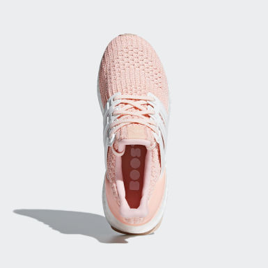 Chaussure Ultraboost rose Adolescents Course