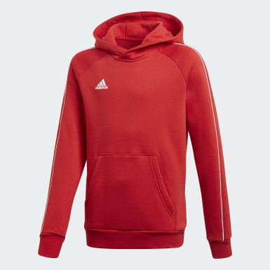 Youth 8-16 Years Training Red Core 18 Hoodie