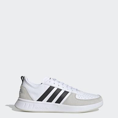 Frauen Freizeit Court 80s Schuh Weiß