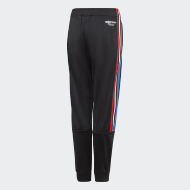 Youth Originals Black Adicolor Track Pants