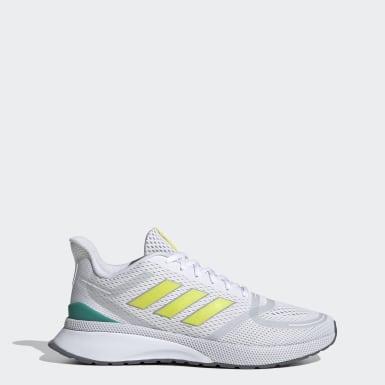 Men's Walking White Nova Run Shoes