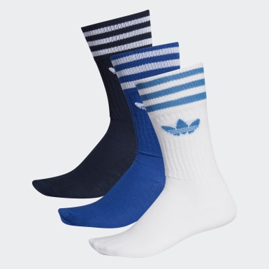 Solid Crew Sock 3 Pairs