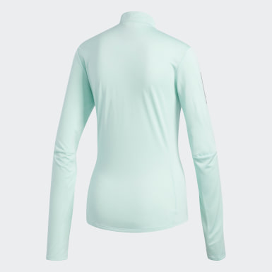 T-shirt Own the Run Turquoise Femmes Running