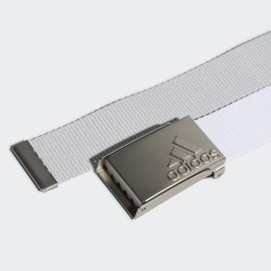 Youth Golf White Universal Web Belt