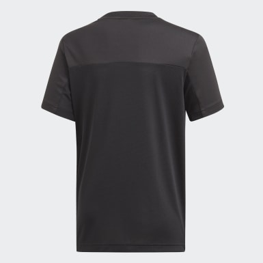 Camiseta Equipment Negro Niño Training