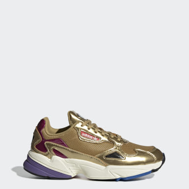 chaussure femme adidas or