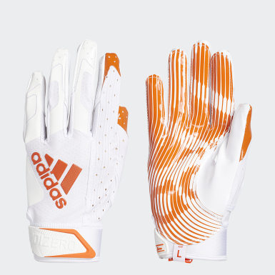 Football Orange Adizero 9.0 Receiver Gloves