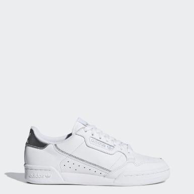 белый Кроссовки Continental 80
