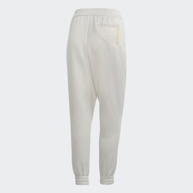 Pants Kaval Cuffed Blanco Mujer Originals