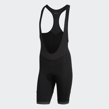 Men Cycling Black Supernova Bib Short