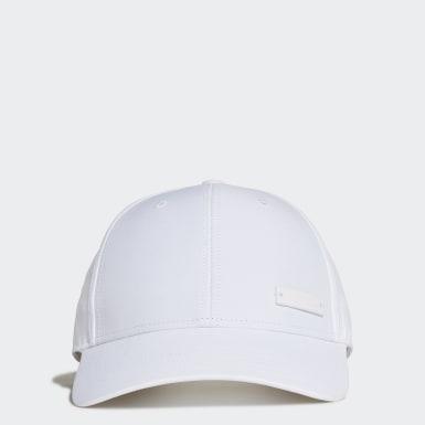 Gorra de Béisbol Liviana Logo Metálico Blanco Training