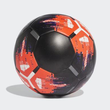 Fußball Team Top Trainingsball Schwarz