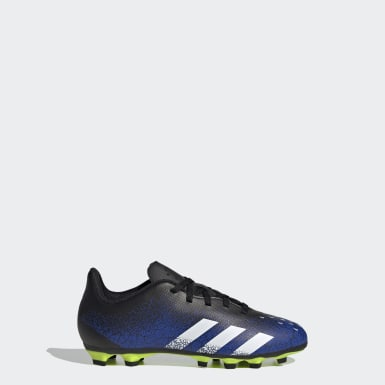 Boys Football Blue Predator Freak.4 Flexible Ground Boots