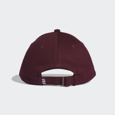 Casquette Trefoil Baseball Burgundy Originals
