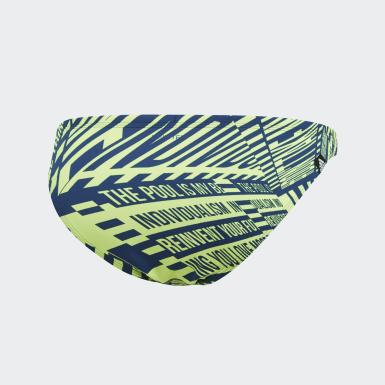 Dół od bikini Pro Graphic Niebieski