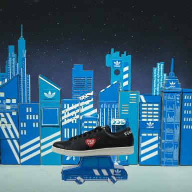Erkek Originals Siyah Stan Smith Human Made Ayakkabı