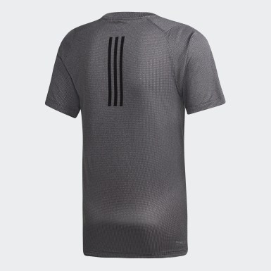 Men Training Grey FreeLift 360 Fitted Climachill T-Shirt
