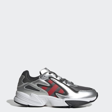 Sapatos Yung-96 Chasm Cinzento Originals