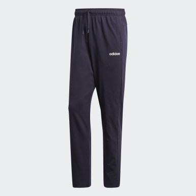 Pantalón Cónico Essentials Plain Azul Hombre Training