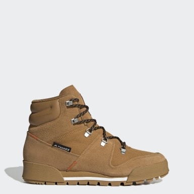 Kvinder TERREX Brun Terrex Snowpitch Climawarm støvler