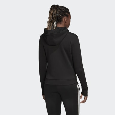 Women Athletics Black Must Haves Versatility Hoodie